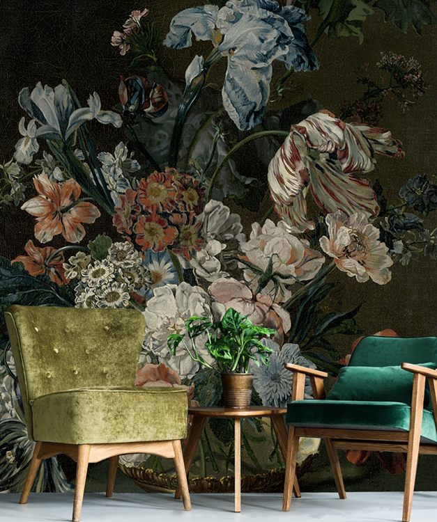 Still life with flowers 7 - Wallcovers