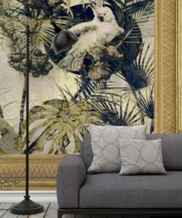 Wallpaper Exotic #160915 Framed