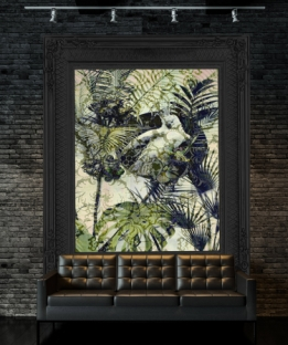 Wallpaper Exotic #160916 Framed