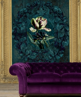 Wallpaper Jardin #160926 Framed
