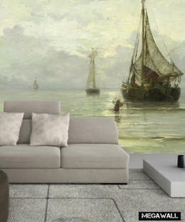 Calm Sea - wallcovering