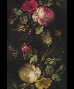 MEGAWALL Dutch Roses  vinyl rug