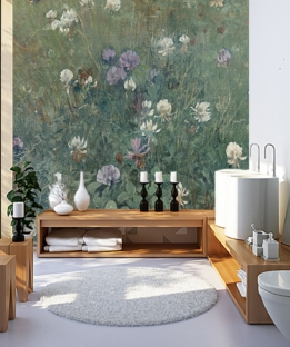 Blooming Clover - Wallcovers