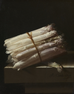 Still life with asparagus - Wallcover