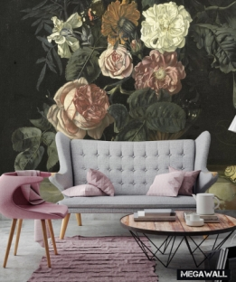 Still life with flowers 5 - Wallcover