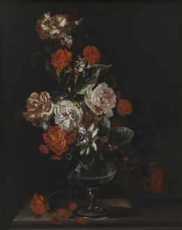 Still life with Flowers 1 - Wallcover