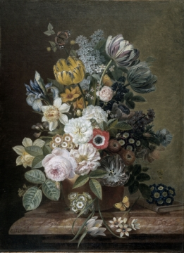 Still life with flowers 6 - Wallcovers