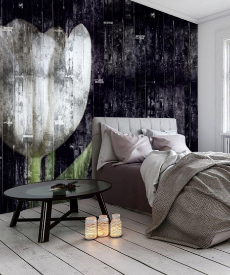 Wallpaper Wooden Tulip (Extensions)