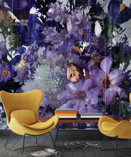 Wallpaper Blooming  (Mural)