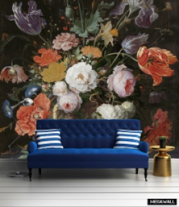 Still life with flowers 8 - Wallcovers